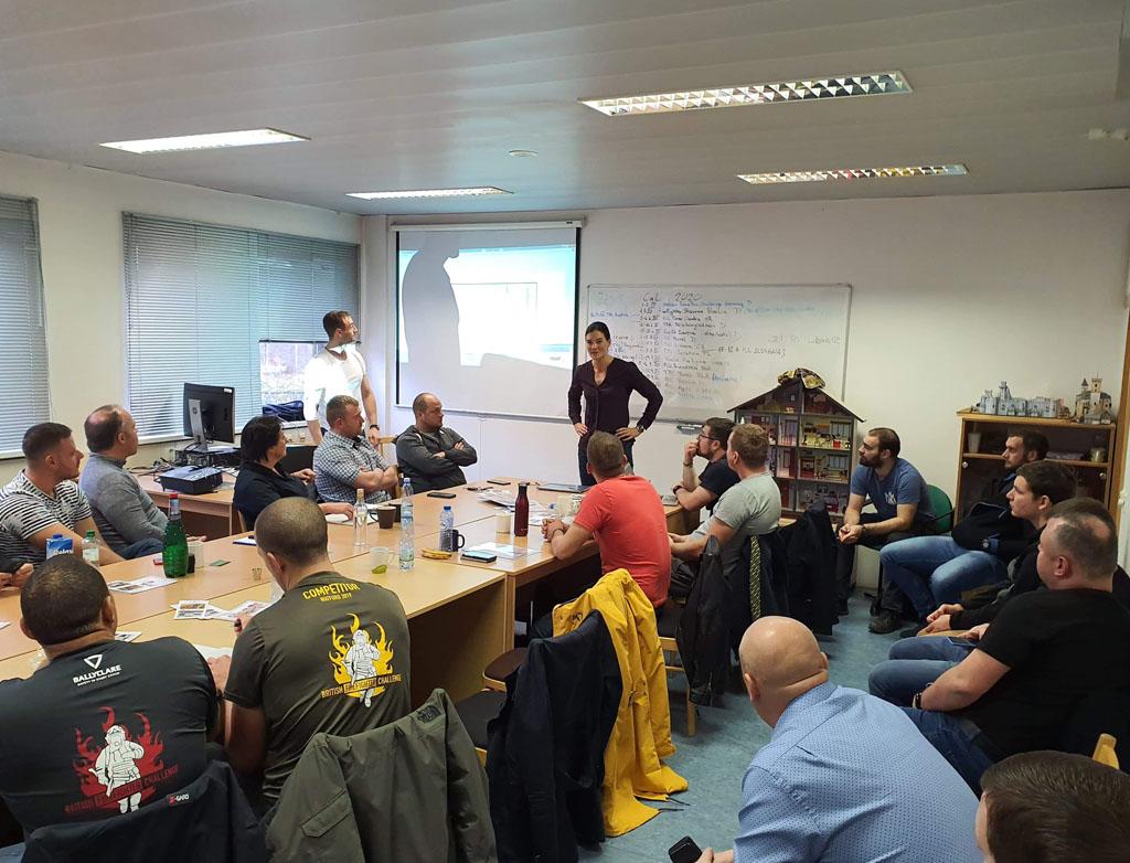 Møte for Firefighter Combat Challenge i Praha